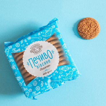 Classic oatmeal cookies TM Boguslavna